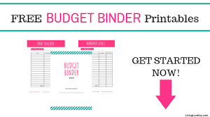 free budget free budget binder printables make saving money easy