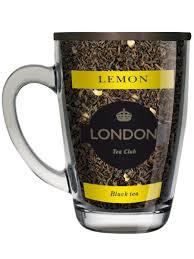 <b>Чай черный</b> Лимон ТМ London <b>Tea</b> Club 70г в стеклянной кружке ...
