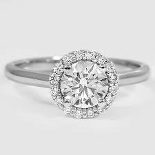 simple halo engagement rings 11931