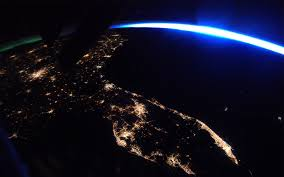 space lighting miami. 26astronaut thomas pesquet took this photo of florida at night from the international space station bright lights citiesu2014miami tampa lighting miami i