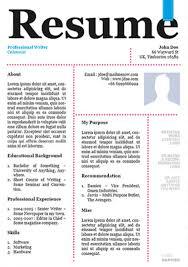 creative resume template design vector material 04 free download creative resume templates download free
