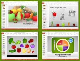 Food Presentation Template Animated Nutrition Presentation Templates For Powerpoint