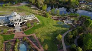 lewis ginter botanical garden aerial tour