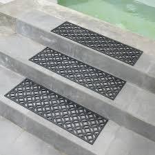outdoor stair treads mat