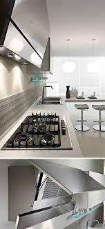 Range Hood Kitchen Kitchen Design Idea Hide The Range Hood Contemporist