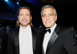 Brad Pitt Meets George Clooney's Twins For 1st Time & Brings Gifts