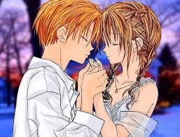 cute couple cartoon cute dp photo
