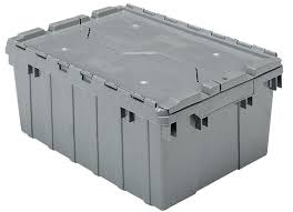 large plastic totes. Extra Large Storage Containers Plastic Bins Lids Grey Hinge Stack Top Box . Totes E
