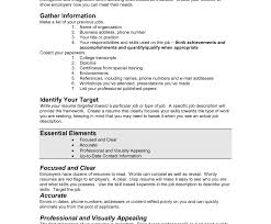 How To Create A Resume Template Simple Job Resume Template Template Myenvoc 60