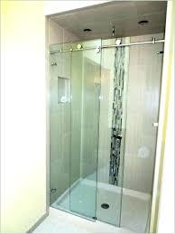 delta sliding shower doors skyline shower doors delta sliding shower doors trackless glass sliding shower door