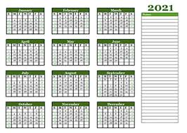 This website shows every (annual) calendar including 2021, 2022 and 2023. Printable 2021 Yearly Calendar Template Calendarlabs