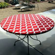 elasticized table cover round fitted picnic tablecloth round fitted vinyl tablecloth watch more like outdoor round