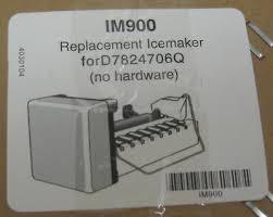 refrigerator icemaker for maytag amana jenn air whirlpool d7824706q. 1 of 6 im900 refrigerator icemaker for maytag amana jennair 67001263 d7824705 jenn air whirlpool d7824706q a
