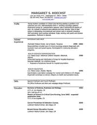 Windows Resume Template Simple Resume Template For Microsoft Word Free Career Templates 48