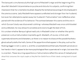 macbeth detailed plot analysis act analysis act scenes  the banquet is simultaneously the high point of macbeth s reign and the beginning of his downfall
