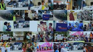 New Light India Volunteer Aster Volunteers Healthcare And Wellness Initiative By