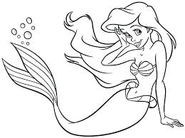 Ariel Coloring Page Coloring Pages Coloring Pages Pics Princess