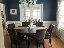 Dining Room Wainscoting Ideas Dark Wainscoting Dining Room