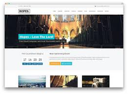 Free Church Website Templates Inspiration 24 Beautiful Clean Church WordPress Themes 24 Colorlib