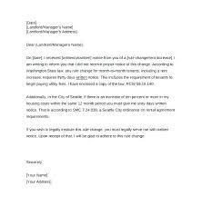 Letter F Templates Free Rent Increase Letter Template Rental Acceptance Templates For