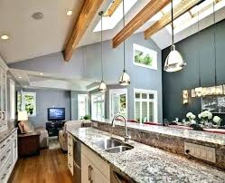 vaulted ceiling kitchen lighting.  Vaulted Vaulted Ceiling Kitchen Lighting Sloped  Pendant Light Lights For Ceilings Mounting  On I