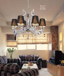 eye catching chandelier for living room at gorgeous beautiful