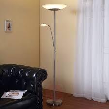 Ragna Led Staande Lamp Met Ingebouwde Leeslamp Lampen24nl