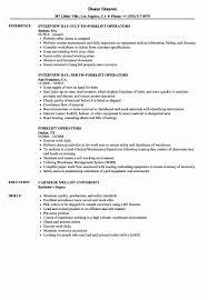 Warehouse Job Description For Resume Forklift Operator Job Description For Resume Elegant Luxury