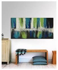 horizontal wall art abstract landscape