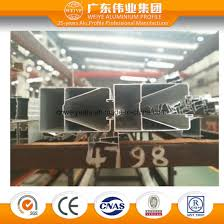 glass frame aluminium extrusion profile for door and window