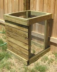 diy compost bin kitchen waste barrel plastic