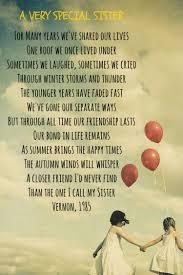 Gedicht Für Die Beste Schwester Auf Englisch My Sister And Me
