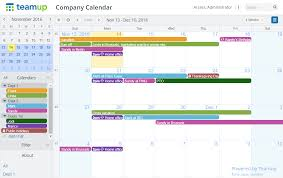 How To Create Company Calendars Teamup News Tips Stories