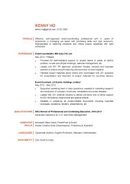 Event Coordinator Resume Resumes Cv Ctgoodjobs Powered By Career