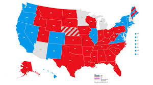 Presidental Election Results Abc News Presidential Election Results Map 6abc Com