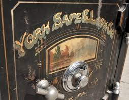 york safe. an early office safe manufactured by the york \u0026 lock company, york, pennsylvania blog
