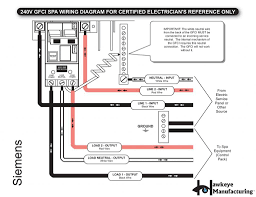 2 pole breaker wiring diagram spa 2 diy wiring diagrams 20 amp gfci wiring diagrams nilza net
