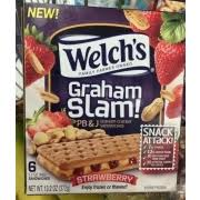 photo of welch s graham slam pb and j graham er sandwiches strawberry
