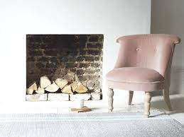 Amazing Bovary Chair In Our Chalky Pink Vintage Velvet