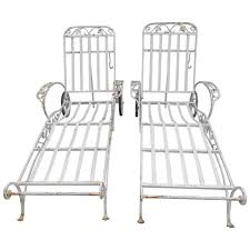 salterini wrought iron furniture. salterini chaise lounges mt vernon pattern in wrought iron 4 available 1 furniture