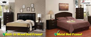 metal versus wood bed frames which is for you