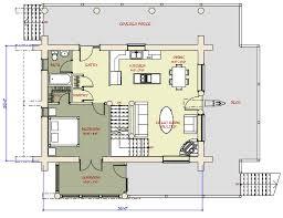 medium log cabin plans 2