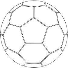 Disegno Di Pallone Da Calcio Da Colorare Disegni Da Colorare E