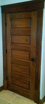 5 panel wood interior doors. White Trim Wood Doors Horizontal 5 Panel Poplar Door Craftsman Hall Other Interior