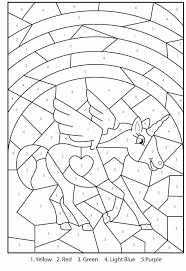 Small Picture Printable Coloring Pages By Numbers Color Number Christmas