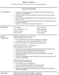 Examples Of It Resumes Unique Network Engineer Resume Template Resume Ideas Pro