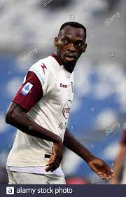 REGGIO NELL'EMILIA, ITALY - SEPTEMBER 26: Simy of US Salernitana in action  ,during the Serie A match between US Sassuolo and US Salernitana at Mapei  Stadium - Citta' del Tricolore on September