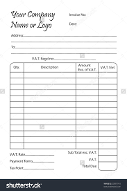 payment receipt wordtemplates net business coupon book doc 12831658 payment book template coupon microsoft office stock vector invoice illustration of a bill pad