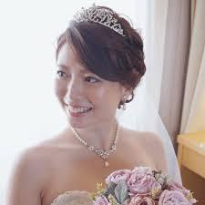 ティアラを乗せた王道可愛い挙式ヘアカタログ Marryマリー