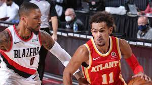 Atlanta Hawks vs Portland Trail Blazers ...